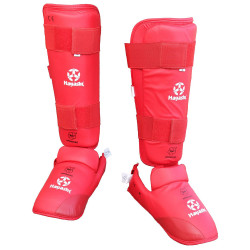 Karate Shin & Instep Guard WKF Approved