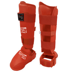 Karate Shin Instep Guard Olympus WKF Style