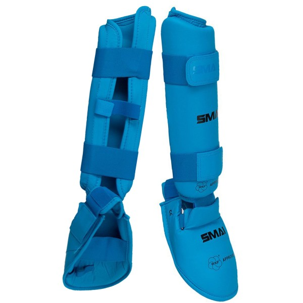 Karate Shin Instep Guard SMAI WKF Approved