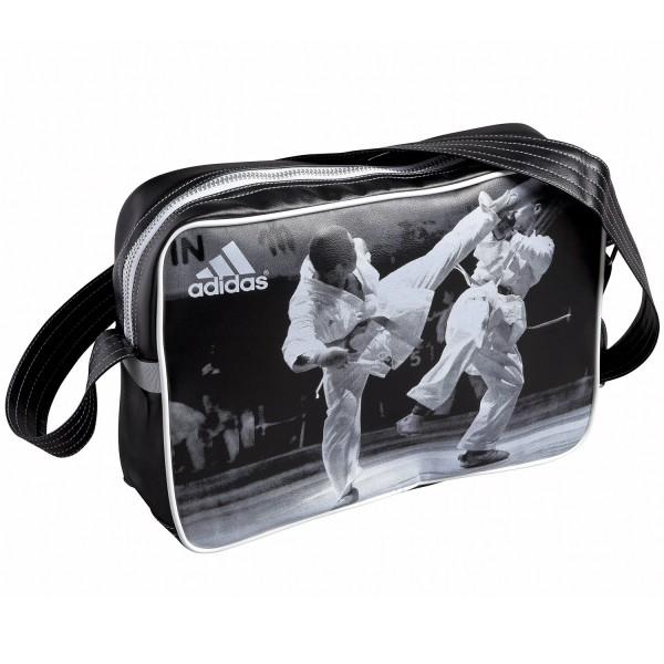 Sport Bag Adidas - Shoulder Bag Mat PU Karate Image (adiACC111CS-K)