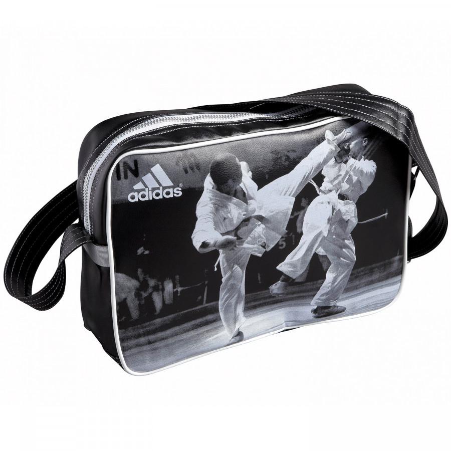 Αθλητική Τσάντα adidas Ώμου με Karate Παράσταση - adiACC111CS-K