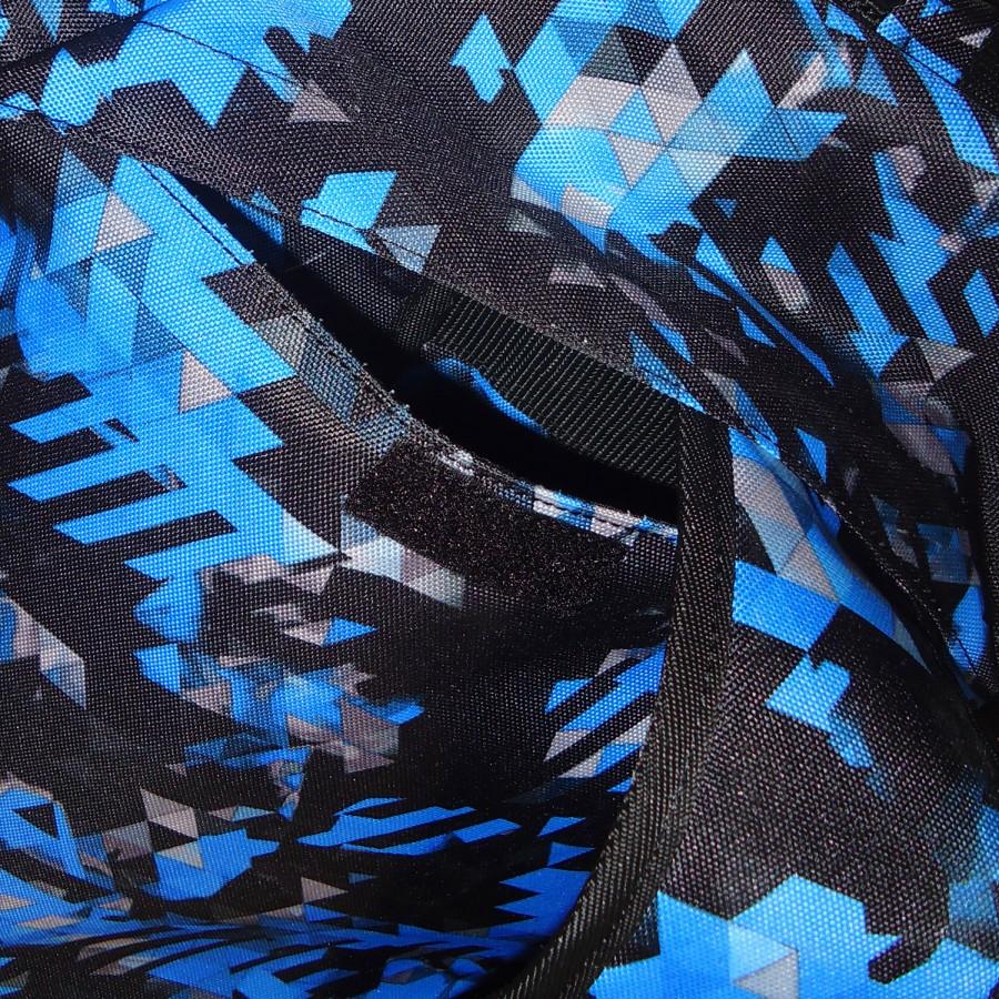 Αθλητική Τσάντα Adidas COMBAT Πλάτης Μπλε Καμουφλάζ / Ασημί - adiACC058