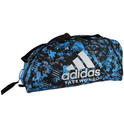 Sport Bag Adidas COMBAT TAEKWONDO Backpack Blue Camo/Silver - adiACC058