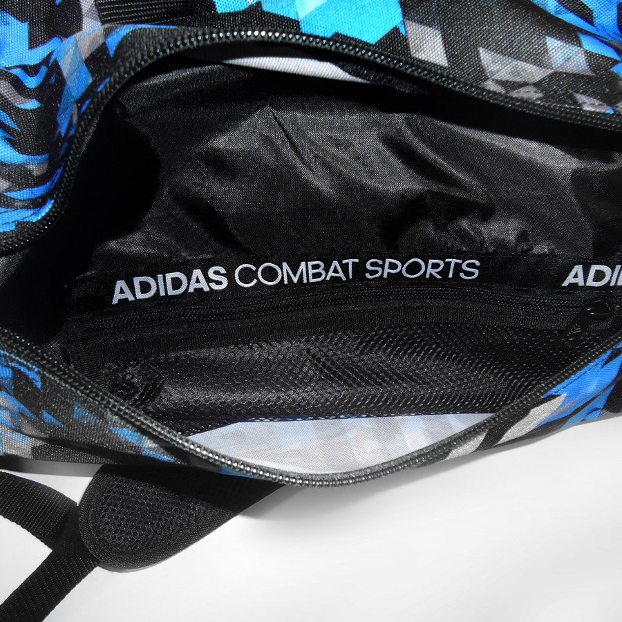 Sport Bag Adidas COMBAT KICKBOXING Backpack Blue Camo/Silver - adiACC058KB