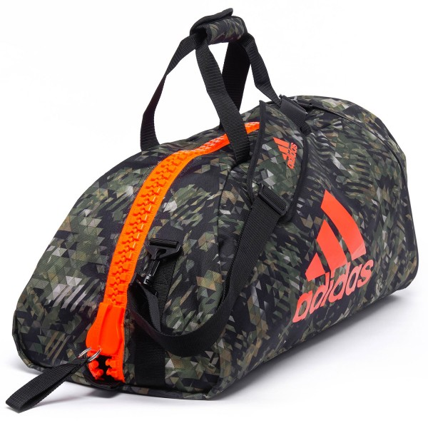 Sport Bag Adidas COMBAT Camo/Orange - adiACC053