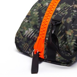Αθλητική Τσάντα Adidas COMBAT Καμουφλάζ/Πορτοκαλί - adiACC053