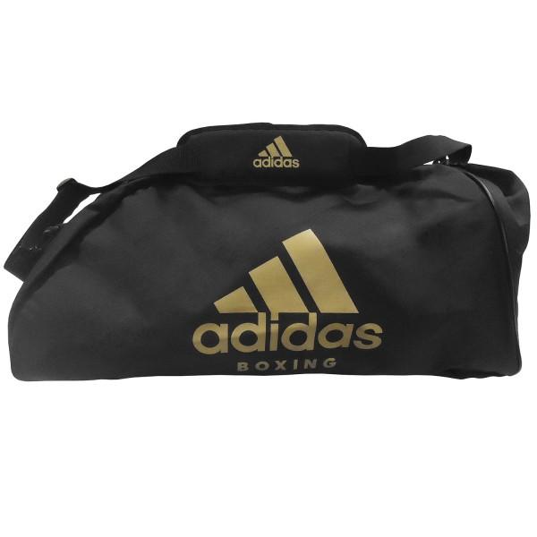 Sport Bag Adidas TRAINING II BOXING Nylon Black/Gold - adiACC052B