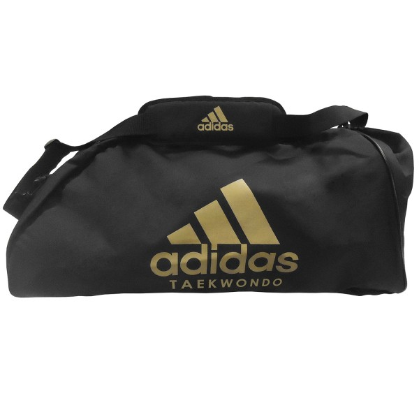 Sport Bag Adidas TRAINING II TAEKWONDO Nylon Black/Gold - adiACC052T