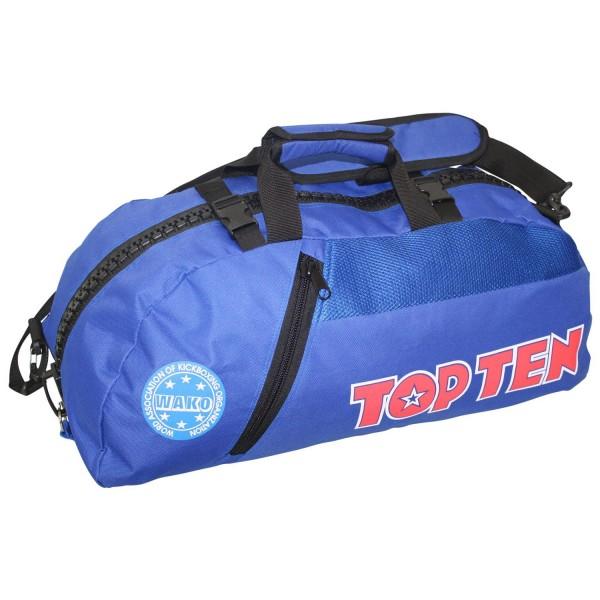 Αθλητική Τσάντα TOP TEN Πλάτης με Συνδυασμό Daffle Τσάντα WAKO