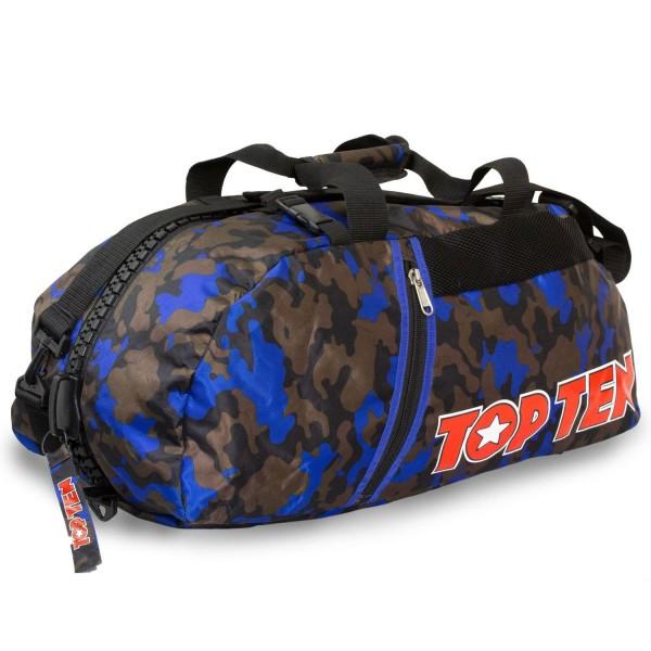 Αθλητική Τσάντα TOP TEN Πλάτης με Συνδυασμό Daffle Τσάντα Παραλλαγής