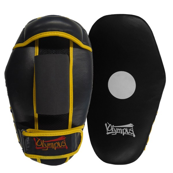 Focus Mitt Oval Curved olympus Leather Pair