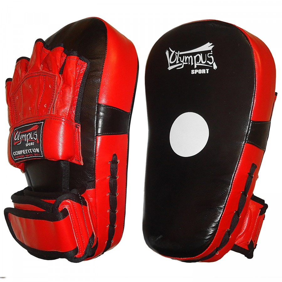 Focus Mitt Olympus Long Curved Leather Wrist Strap Pair
