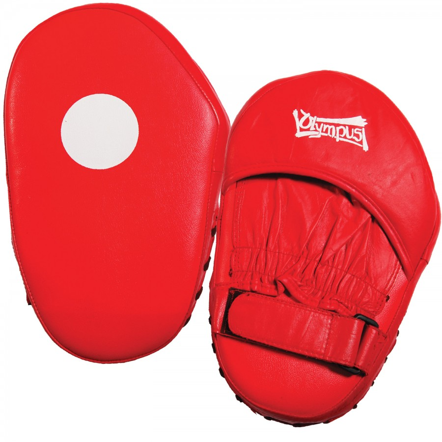 Focus Mitt Oval Leather Pair