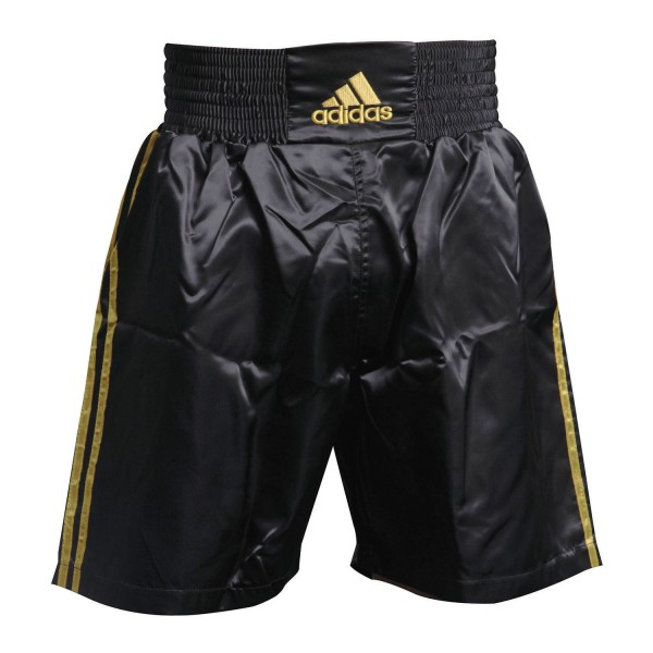Boxing Trunk Adidas MULTI Black/Gold - ADISMB01