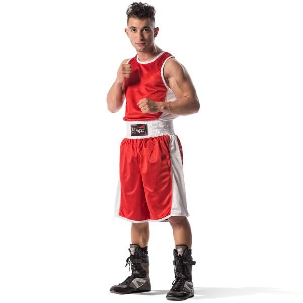 Boxing Set Olympus REVERSIBLE Stretchable Singlet & Shorts
