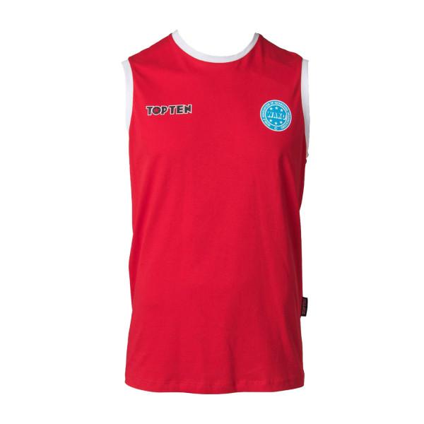 Αμάνικο Μπλουζάκι TOP TEN WAKO Αγώνων