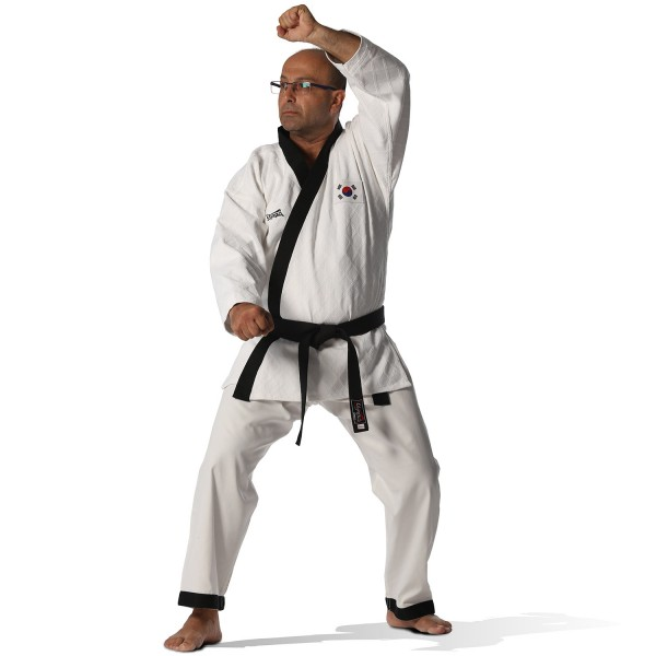 Hapkido Uniform Olympus Black Label Judo Fabric