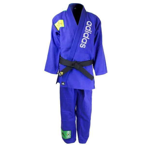Brazilian Jiu-Jitsu Uniform Blue Adidas
