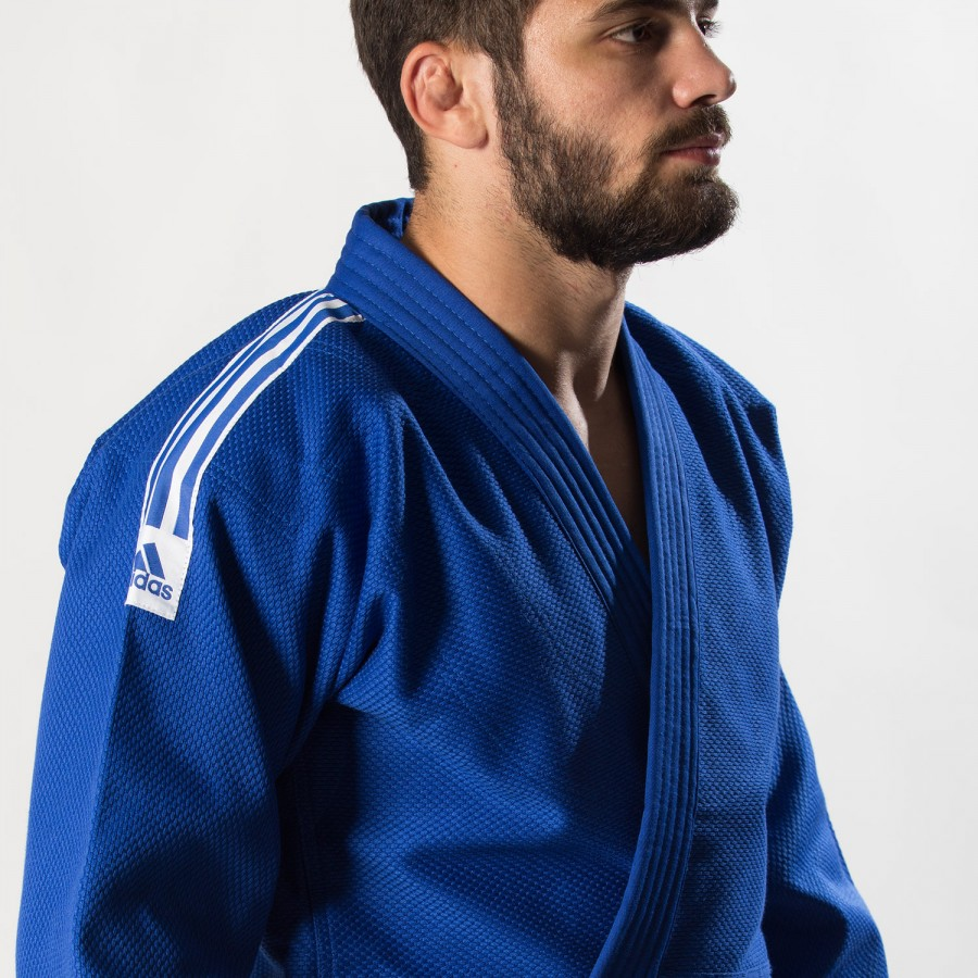 Judo Uniform Adidas TRAINING J500gr/m Blue