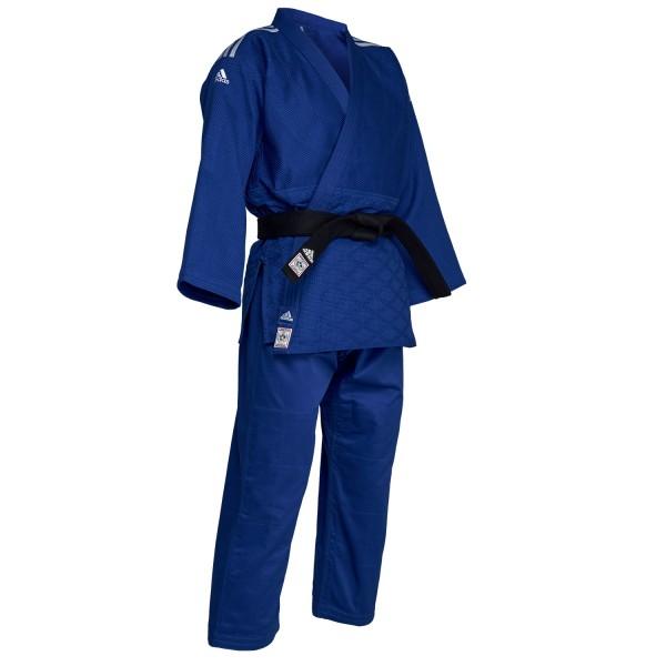 Judo Uniform Adidas J-IJF CHAMPION II IJF Blue - IJF approved