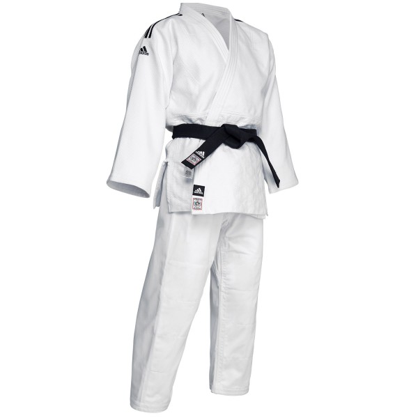 Judo Uniform Adidas J-IJF CHAMPION II IJF White - IJF approved