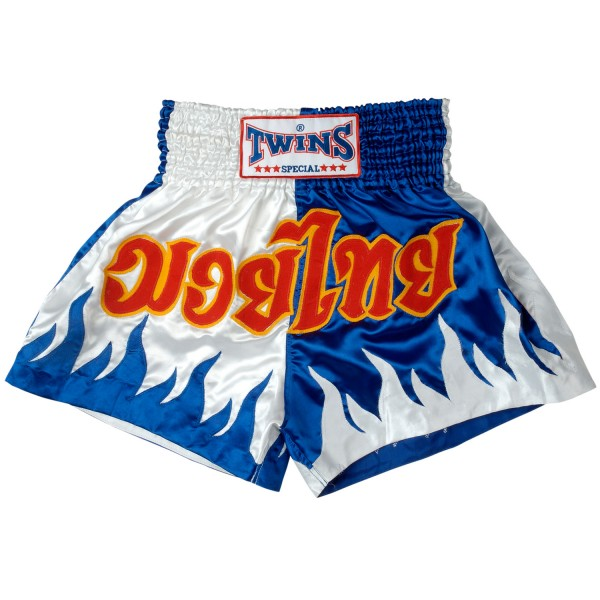 Shorts Twins - Blue/White Flame