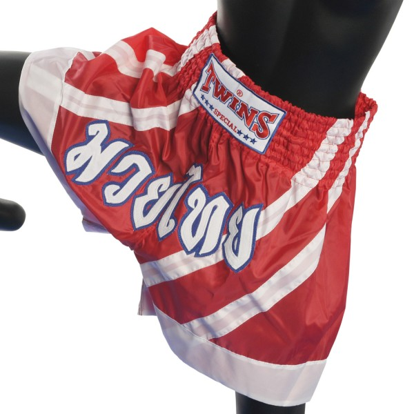 Shorts Twins - Thailand Writing Red 2 Stripes