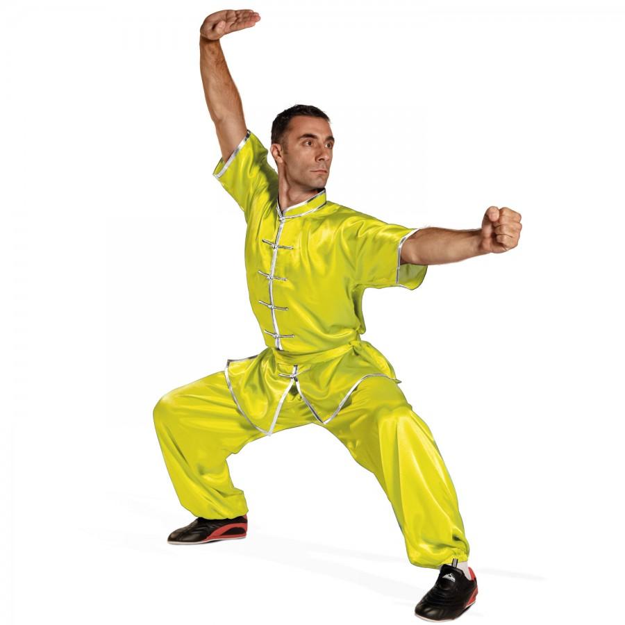 Wu-Shu Uniform Tai Chi Style Short Sleeves