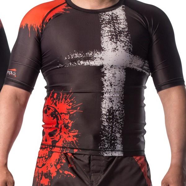 MMA Rashguard Olympus SKULL & CROSS