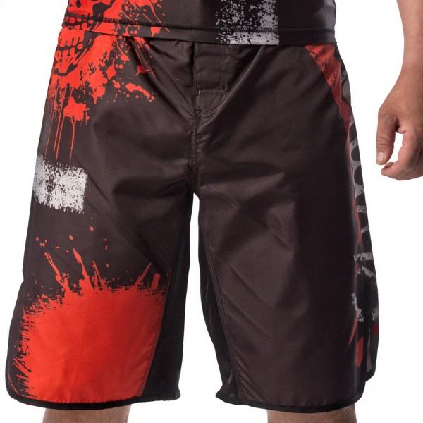 MMA Fight Trunk Olympus SKULL & CROSS