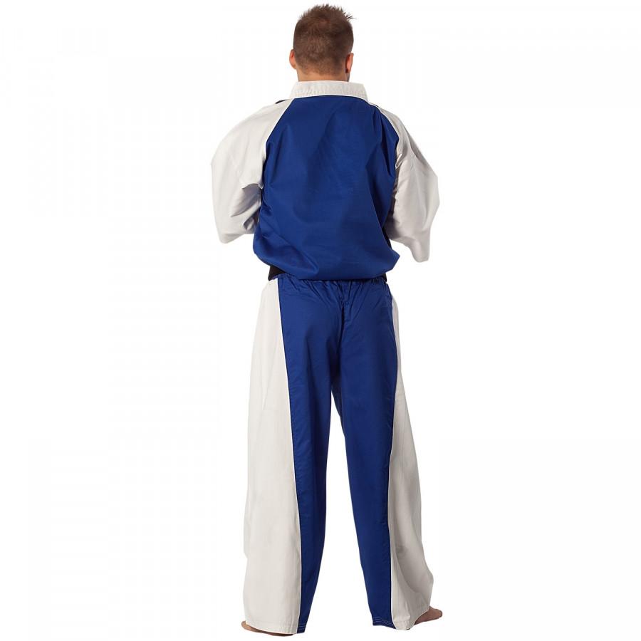 Semi Contact Uniform – Blue/White & Black Stripe