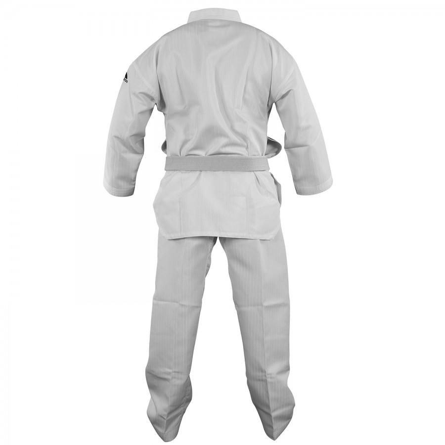 Taekwondo Uniform Adidas ADI-START White Collar Polyester - adiTS01