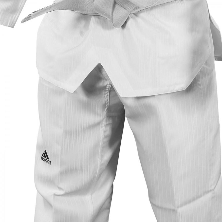 Taekwondo Uniform Adidas ADI-START White Collar - adiTS01