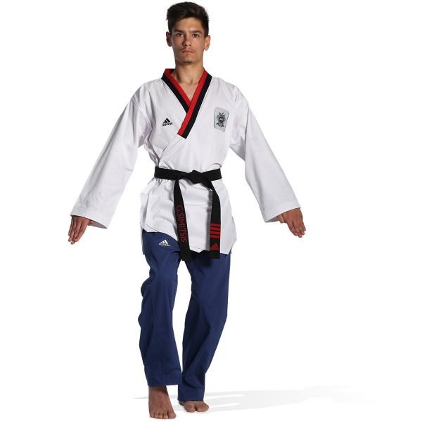 Dobok Adidas POOMSAE Youth Male White/Blue – ADITPYM01
