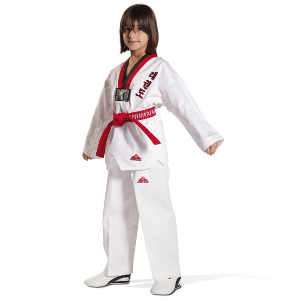 Taekwondo Uniform - KYORUGI POOM RIBBED