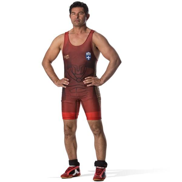 Wrestling Singlet Olympus SPARTAN HELLAS