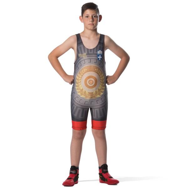 Wrestling Singlet Olympus LAUREN WREATH HELLAS