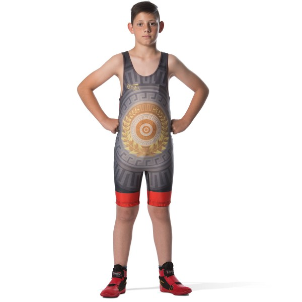 Wrestling Singlet Olympus LAUREN WREATH