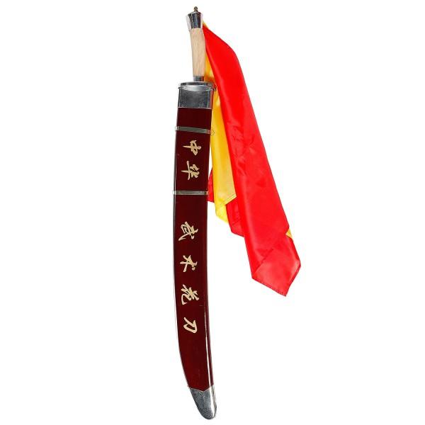 Παραδοσιακό Σπαθί Wushu Dan Dao Εύκαμπτο Ξύλινη Θήκη