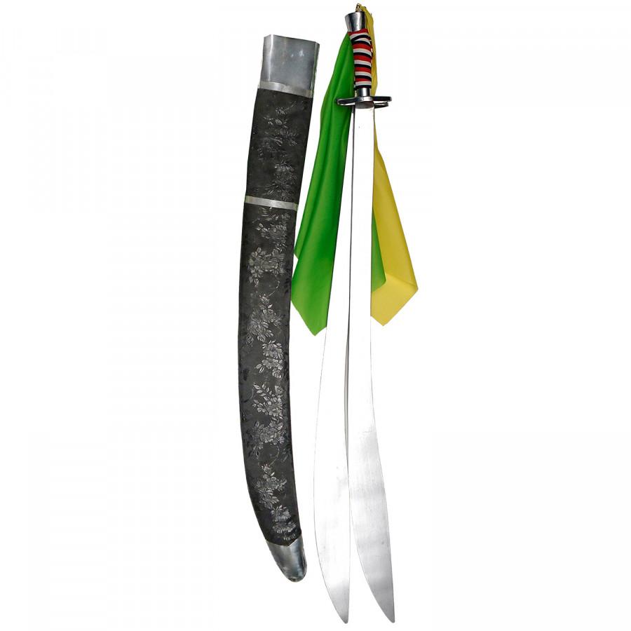 Σπαθί Shuang Dao Διπλό Κυρτό, για Wu-Shu και Κινέζικες Πολεμικές Τέχνες.