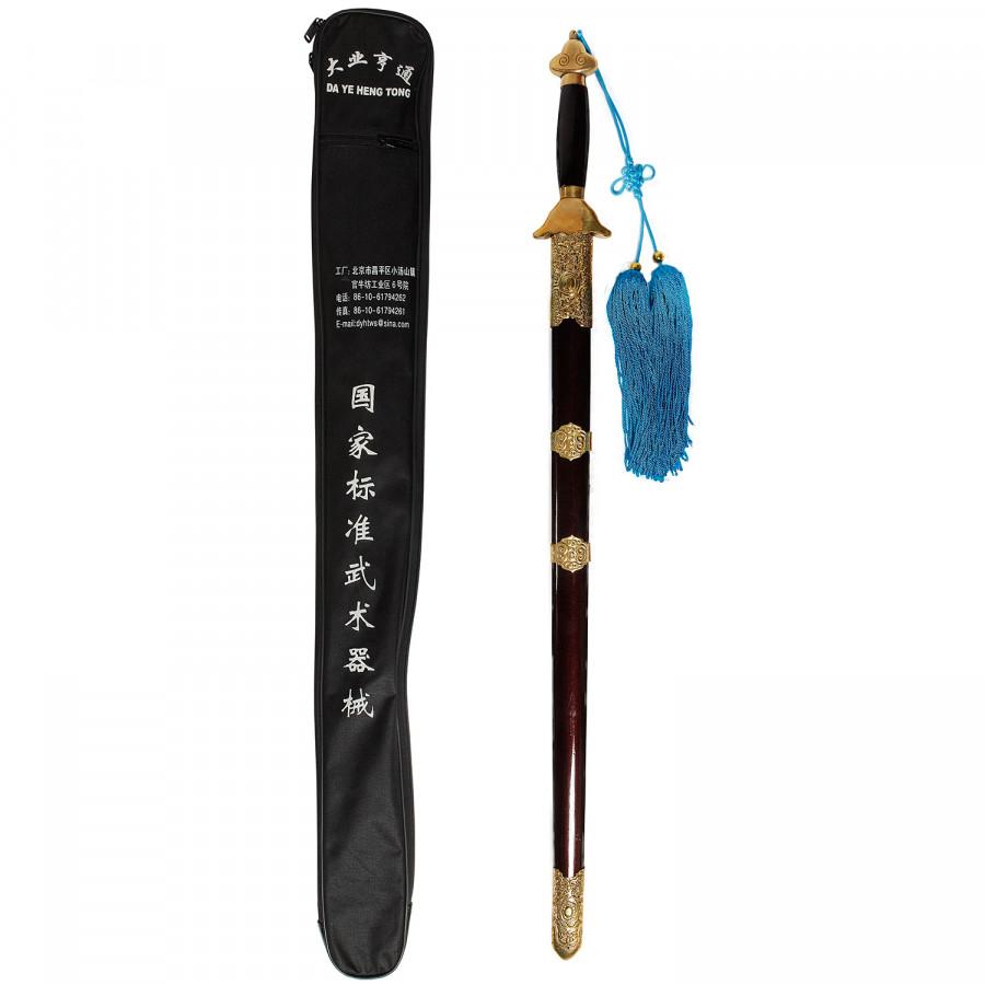 Παραδοσιακό Wushu Σπαθί Long Quan Competition Ίσιο