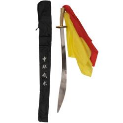 Παραδοσιακό Wushu Σπαθί Long Quan Αγωνιστικό με Φούντες